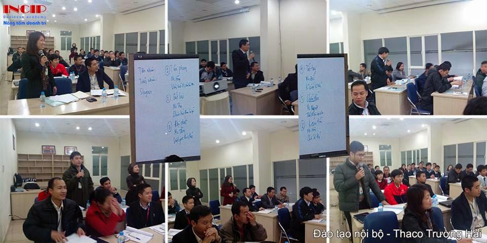 khóa học quản lý cấp trung tại Thaco