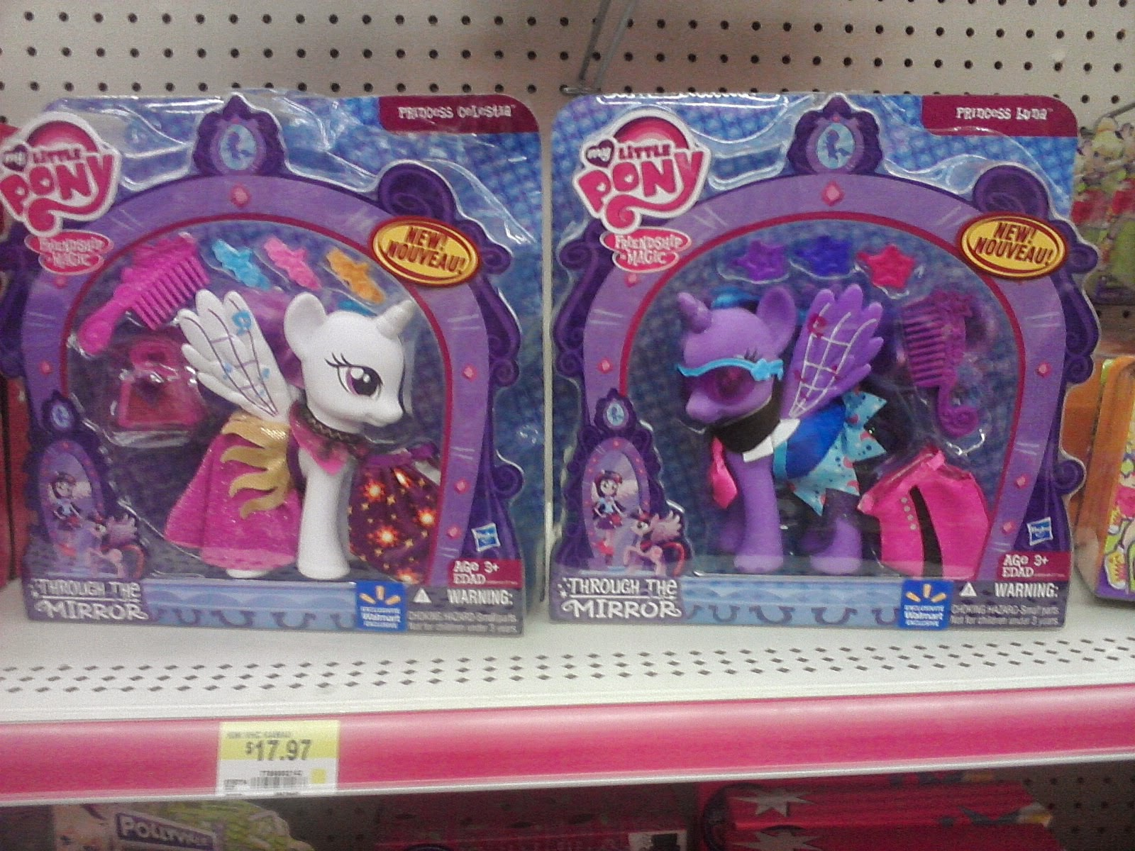 Through The Mirror Celestia And Luna Fashion Styles Already Found At Walmart Mlp Merch