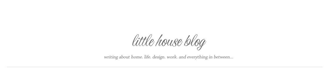 Aubrey &amp; Lindsay&#39;s Little House Blog