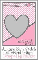 JANUARY CARD SKETCH ASC #40