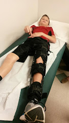 OUCH!!! A Fractured Tibia for Noah!