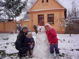 Radost prvog snega