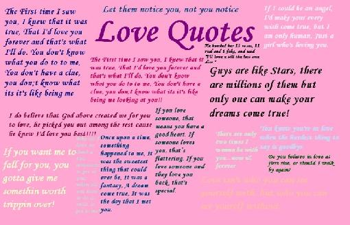 do love you  quotes