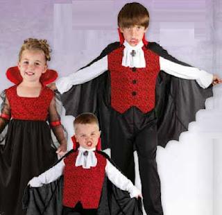 DISFRACES INFANTILES HALLOWEEN 2012