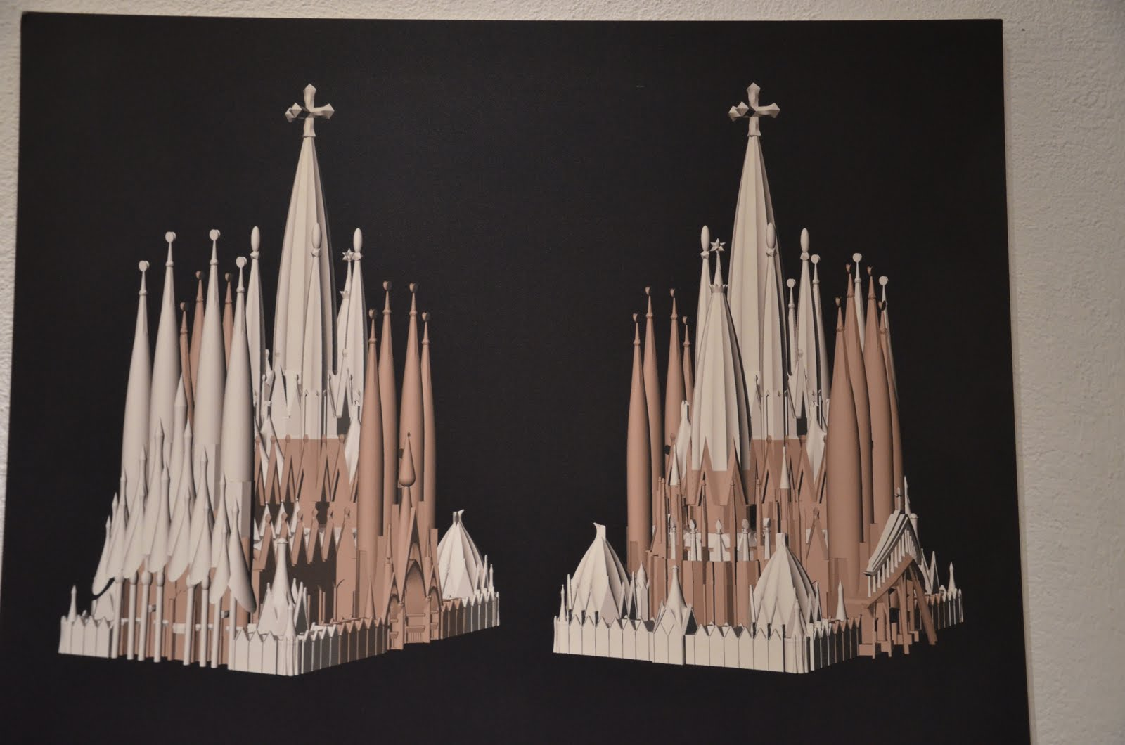 not all who wander are lost sagrada familia. Black Bedroom Furniture Sets. Home Design Ideas