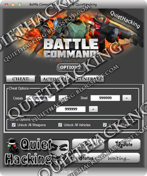 Battle Command Cheat v.5.4 from QH 1