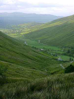 Glengesh Passes Valleys Ireland wallpaper