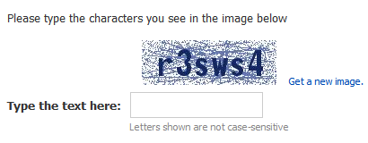 captcha block bot technique