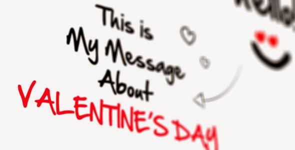 VideoHive Sketch Valentine's Day