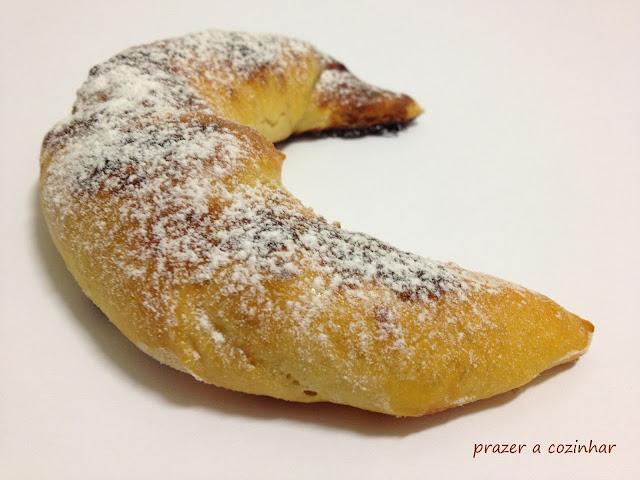 prazer a cozinhar - croissants de nutella