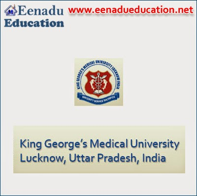 Faculty posts in King George's Medical University  (KGMU)