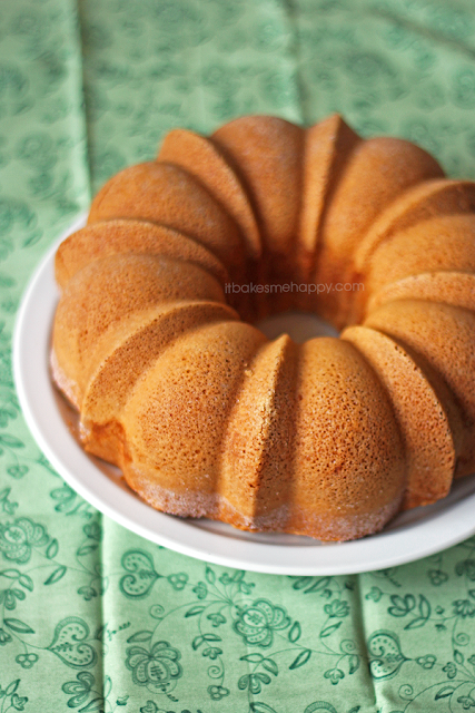 It Bakes Me Happy: Half Pound Cake