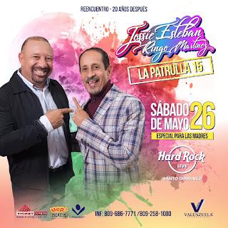 """Jossie Esteban & Ringo Martínez """"La Patrulla 15"""", 20 Años después"""