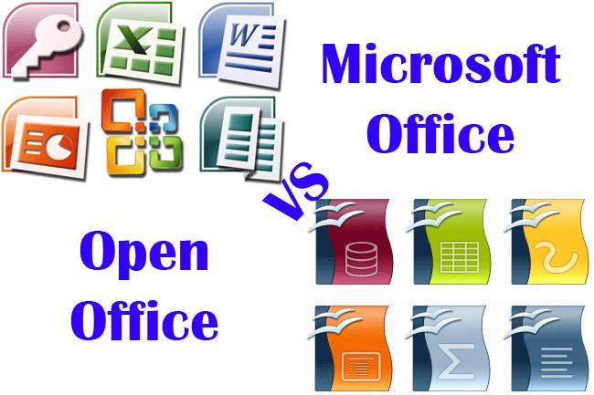 Programas Y Aplicaciones Microsoft Office Vs Open Office