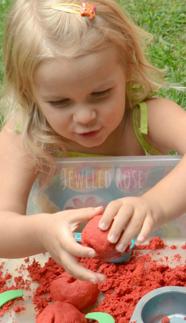 Diy Squishy Sand : Homemade Moon Sand Recipe {Apple} Growing A Jeweled Rose