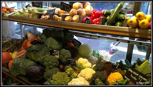Légumes du potager CAUSSES, alimentation générale Notre dame de lorette Pigalle Paris