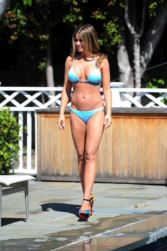Carmen Electra – Bikini Photoshoot in Los Angeles
