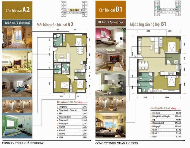 Căn hộ A2-B1 chung cư Tân Tây Đô CT1B
