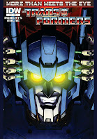 The Transformers: More than Meets the Eye #14 Cover