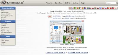 Aplikasi Software Desain Rumah Sweet Home 3D