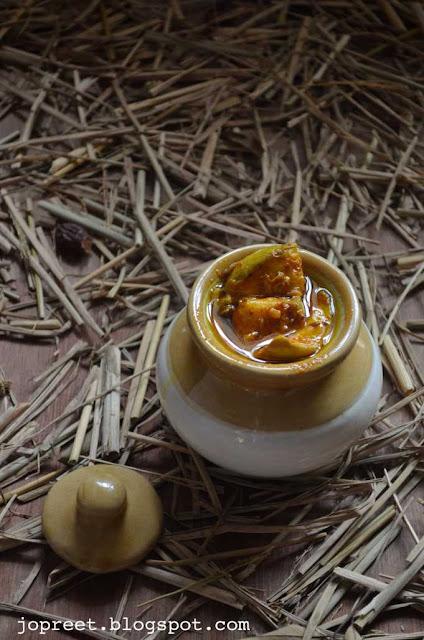Punjabi Mango Pickle / Aam ka Achaar