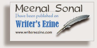 Published @Writer's Ezine Feb'15