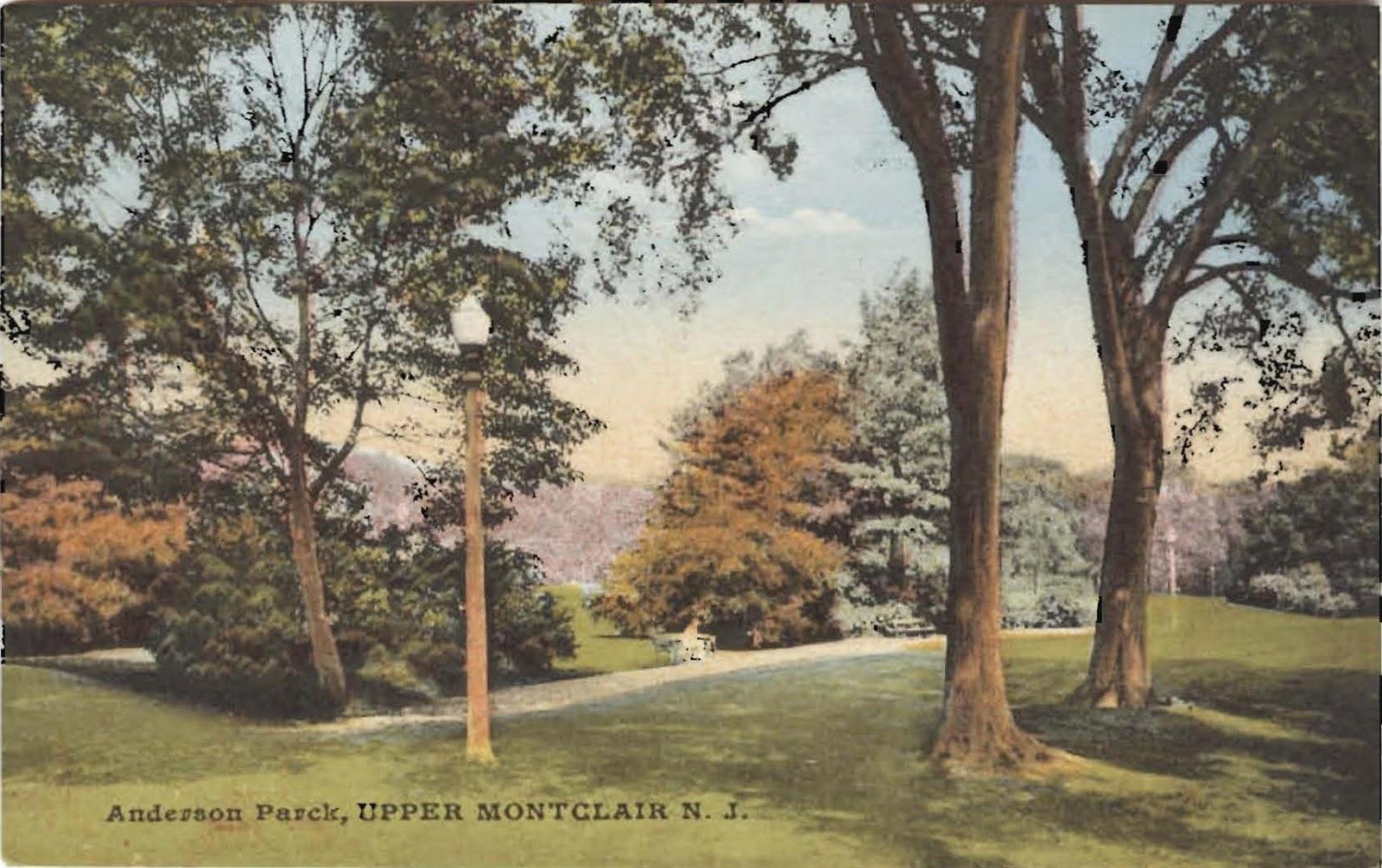 ESSEX COUNTY NEW JERSEY TONEY/'S BROOK PARK COPY PLAT ATLAS MAP 1906 GLEN RIDGE