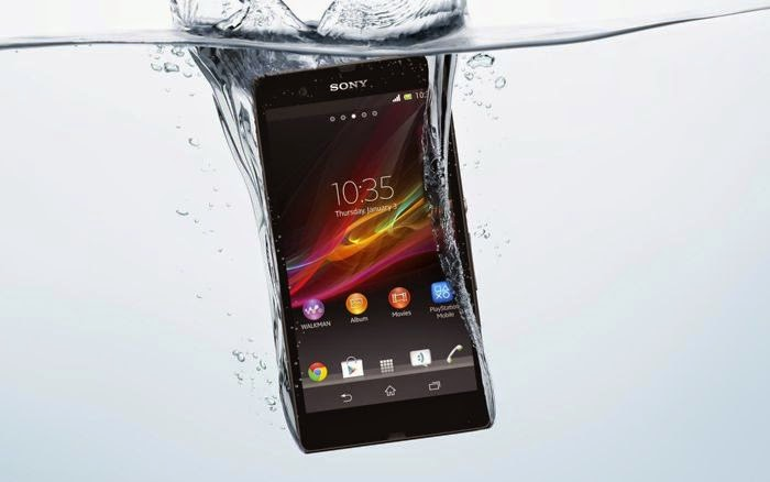Xperia Z2 Dustproof and Water resistant android mobile