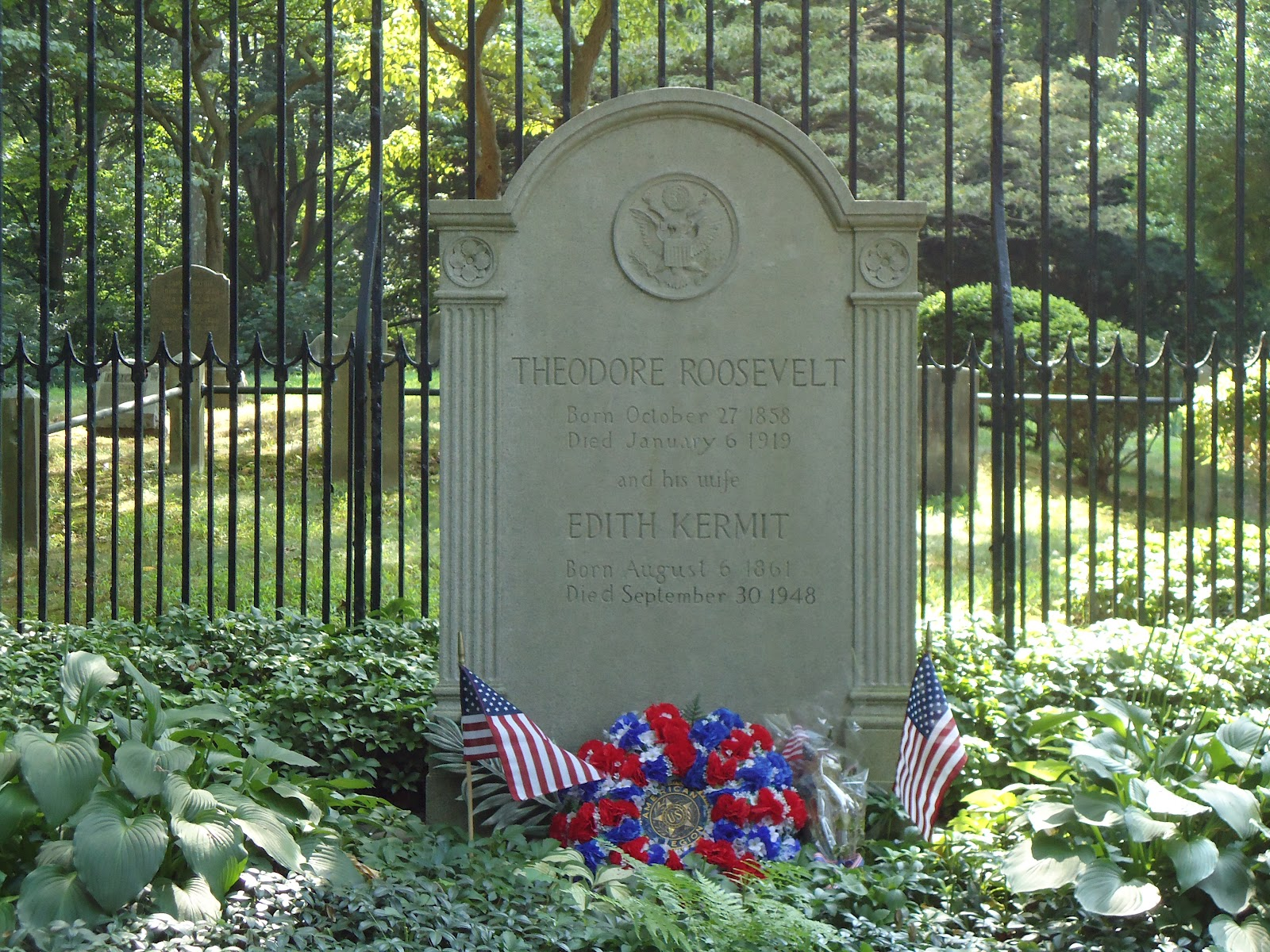 Theodore Roosevelt Homes And Burial Sites Of The