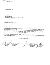 Solicitud de representación del Comité FIDO