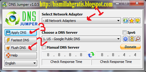 Cara Membuka Website Atau Situs Yang Di Blokir Menggunakan DNS Jumper ...
