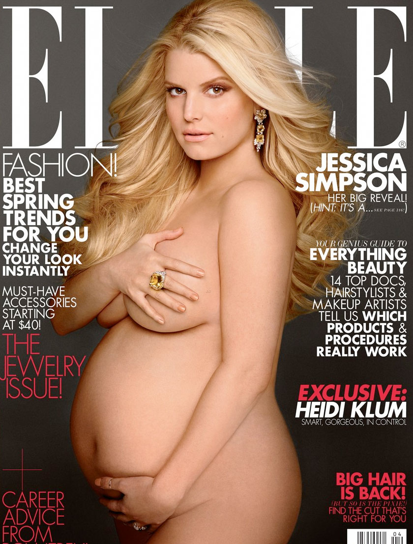 La Reciente Tapa Con Una Embarazad Sima Jessica Simpson Me Hizo