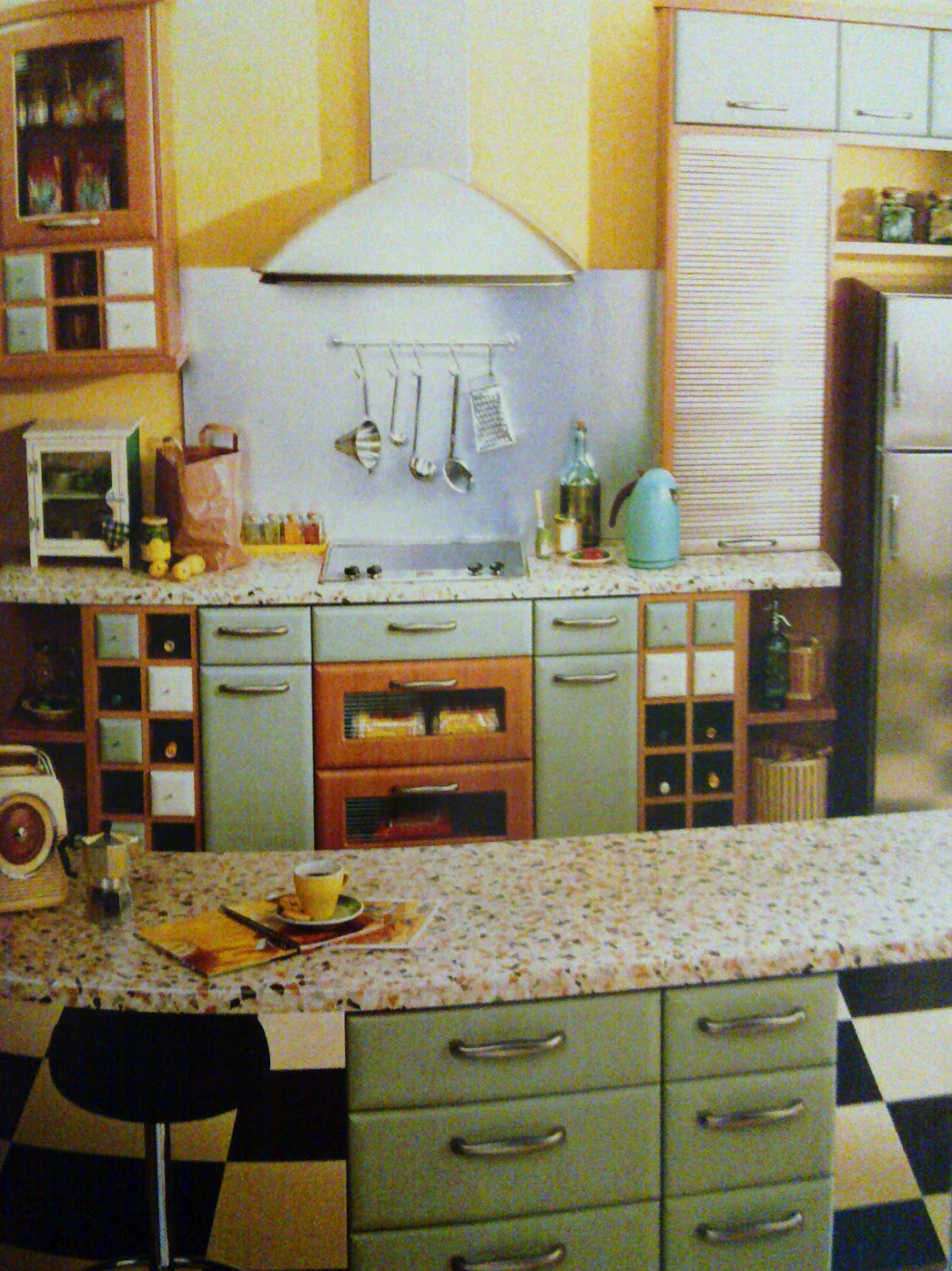 PandyInteriorDesigner: Kitchen of Retro Style - research