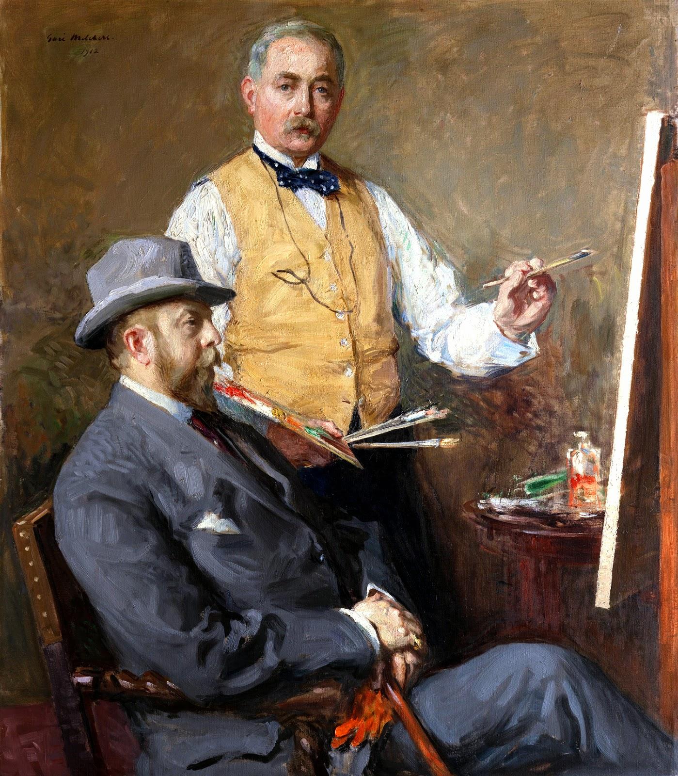 Gari Melchers, Self Portrait, Portrait of Painters
