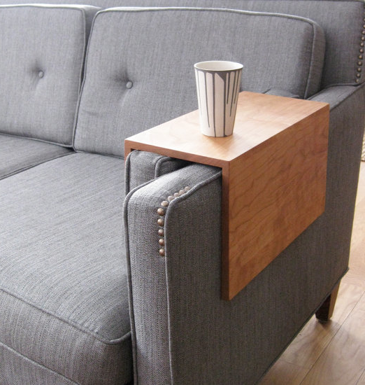 Beautiful When You Donu0027t Have The Space For An End Table, But Still Need A Place To  Set Your Drink,