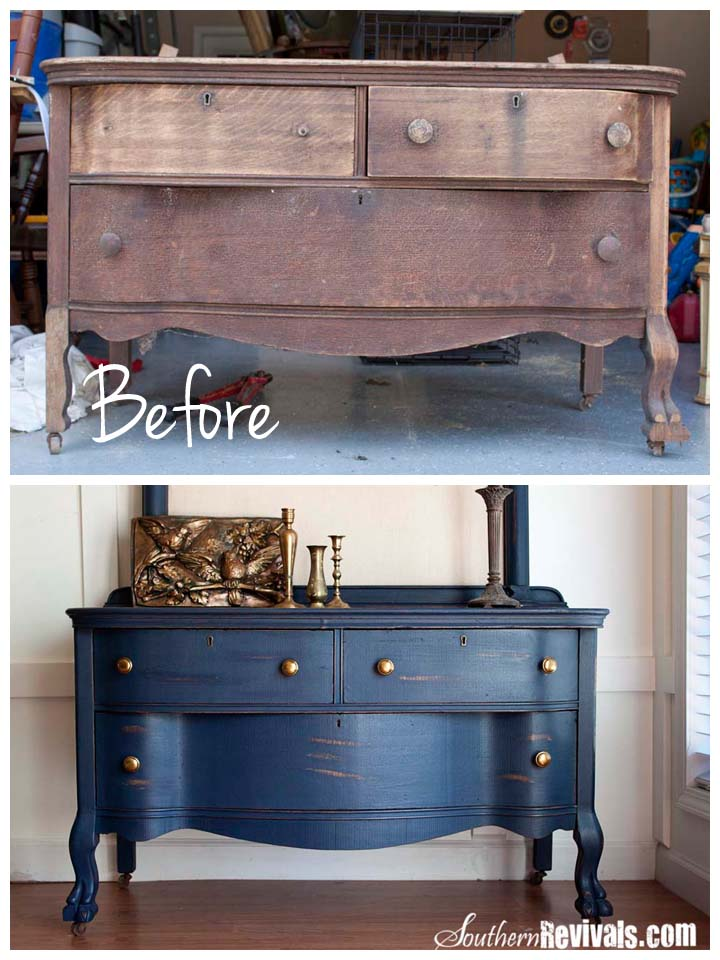 Uncle Joe S 1800 Dresser Makeover