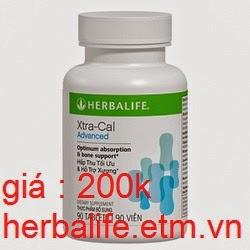 Xtra-Cal Advanced Herbalife hỗ trợ xương khớp