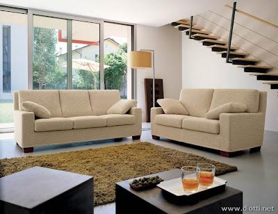disposizione moderna e funzionale i divani canova con schienali alti ...