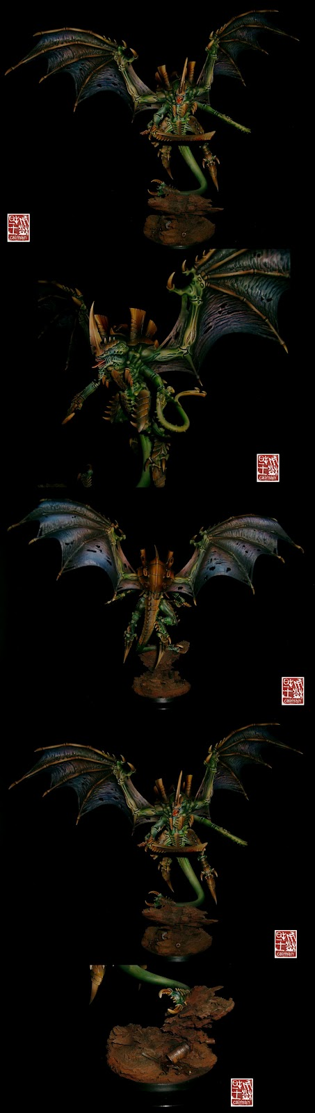 Games Day: Golden Demon de Oro con un tirano de enjambre Warhammer 40000