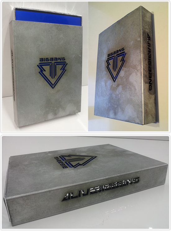 We Love Big Bang: [Photos] ALIVE: Big Bang 5th Mini Album Packaging