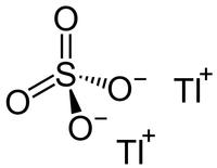 Thallium sulfate