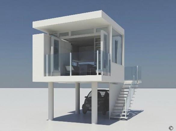 Alessandro Vivere In Un Cubo High Tech