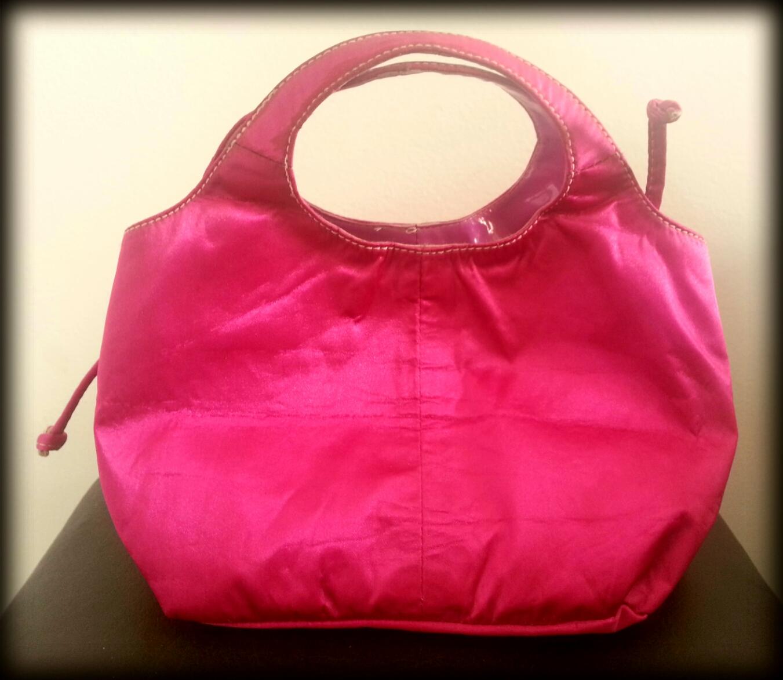 Bolsa De Mão Rosa Pink : Luxoh brech? bolsa de m?o pink