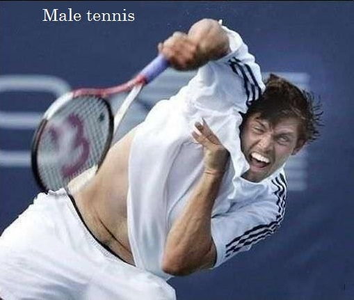 How We See Female And Male Tennis Separately!