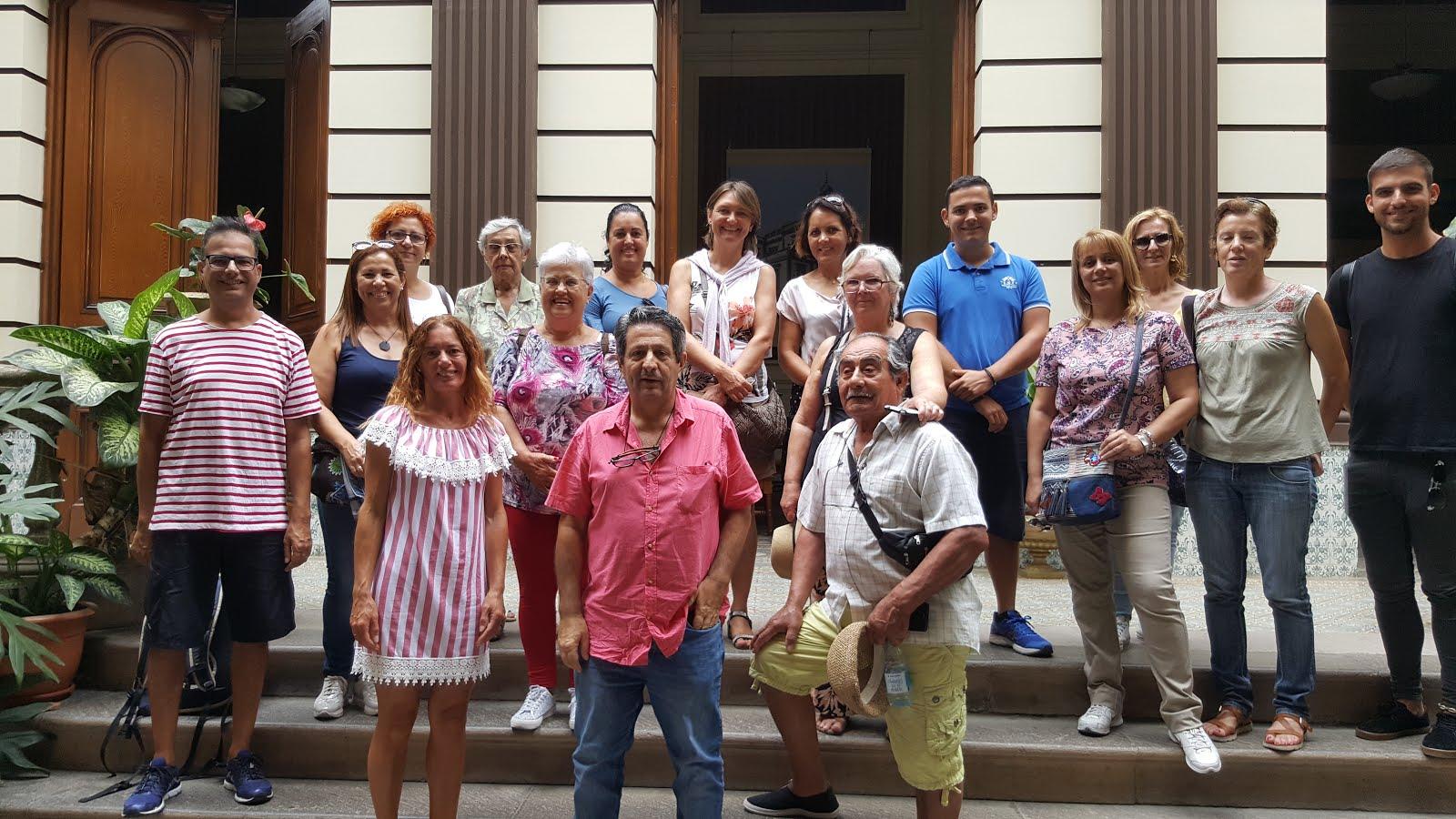 Visita Concejalía de Turismo Ayuntamiento de Arucas