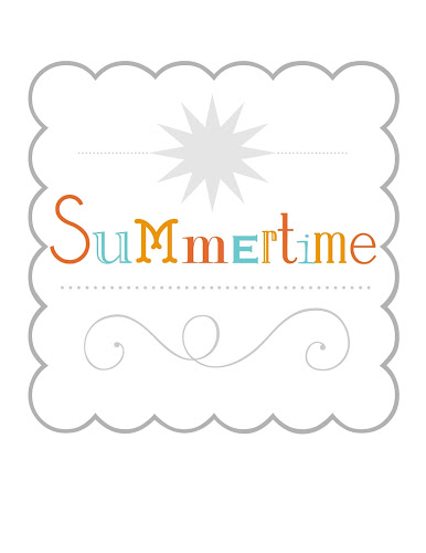 Summertime Printable from Blissful Roots