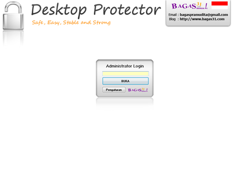 Desktop Protector Portable Edition (BETA) 2