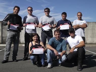 Turminha do Curso de Pilotagem dia 03 de Junho de 2012.