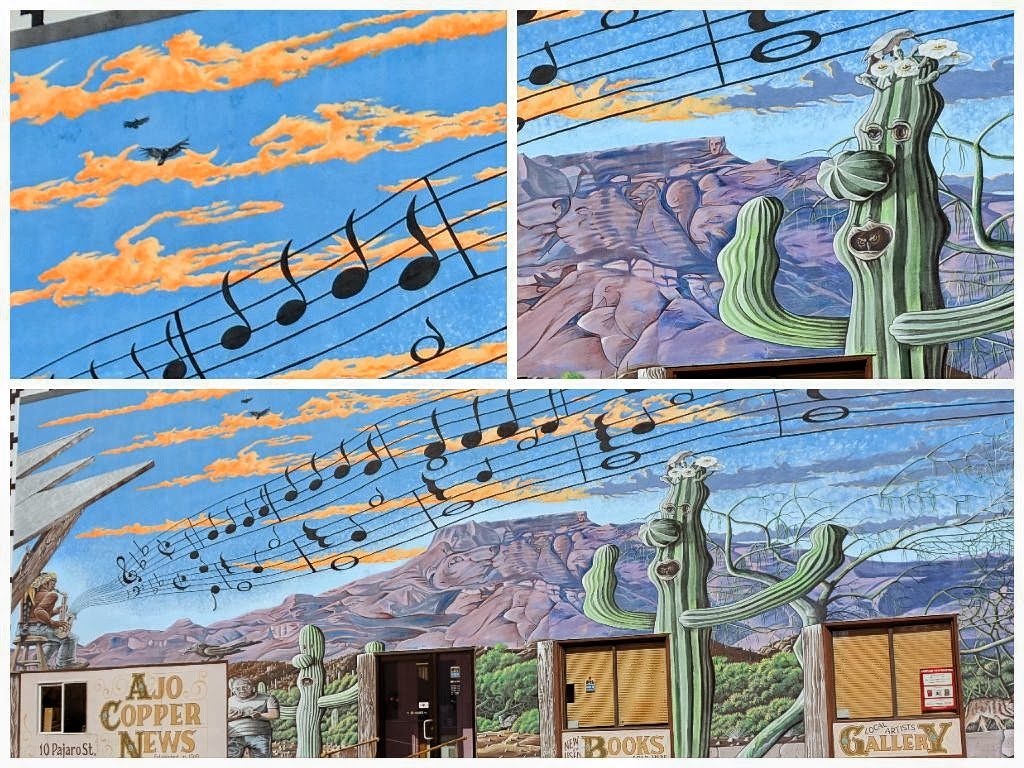 Stillhowlyntravels around ajo for Mural collage