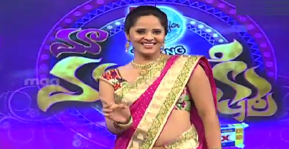 Anasuya Dance To Nee Navvula Tiyadhananni From Aadi